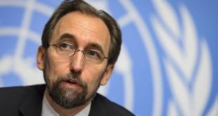 Komisioner Hak Asasi Manusia PBB, Zeid Ra'ad al-Hussein (foto: unwatch.org)