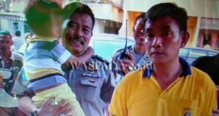 salah seorang bocah yang ditemukan.(WOL Photo)