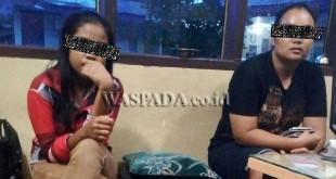Dua gadis ABG warga Langkat dan Riau korban pencabulan lapor ke Polsek Medan Sunggal. (WOL. Photo/gacok)