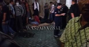 Seorang Bandar narkoba, tewas ditembak mati anggota BNN di Medan.(foto: Gacok)
