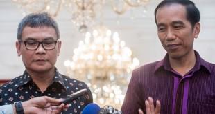 ohan Budi dan Presiden Jokowi (foto: Antara)