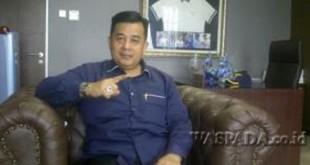 Ketua Fraksi Demokrat DPRD Medan, Herri Zulkarnain (WOL Photo)