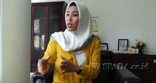 Anggota Komisi C DPRD Medan, Ratna Sitepu.(foto muhammad rizki)