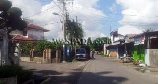Jalan Setiabudi - Jalan Sempurna Kecamatan Medan Selayang sudah setahun tak miliki penerangan.(WOL Photo)