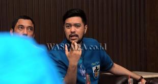 Ketua DPD KNPI Kota Medan, El Adrian Shah (WOL Photo/Ega Ibra)