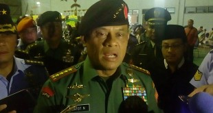 Panglima TNI Jenderal Gatot Nurmantyo (Foto: Hari Istiawan/Okezone)