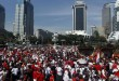 Parade Bhinneka Tunggal Ika di CFD Jakarta (foto; Sindonews)