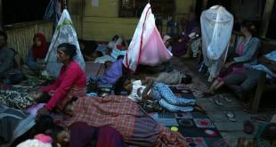 Pengungsian Warga Aceh Usai Diguncang Gempa (Foto: Antara)