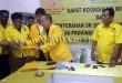 Rajamin Sirait Serahkan SK Kepada 29 DPD Partai Berkarya. (WOL Photo/Gacok)