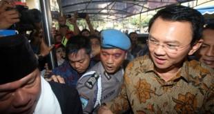 Terdakwa kasus penistaan agama, Ahok (Foto: Okezone)