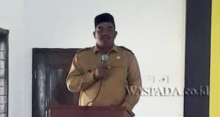Camat Cot Girek, Usman K S,Sos. (WOL Photo/Chairul Sya'ban)