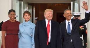 Donald Trump Resmi Dilantik Jadi Presiden Amerika Serikat ke-45. Pelantikan Donald Trump. (Foto: AFP)