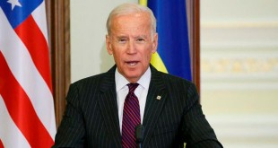 Wakil Presiden AS Joe Biden mengucapkan salam perpisahan lewat Twitter (Foto: Gleb Garanich/Reuters)