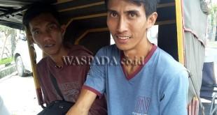 Dua warga Bogor dan Jakarta menjadi korban merampokan dan penikaman empat pelaku di depan Terminal Pinang Baris Jalan TB Simatupang Medan. (WOL Photo/Gacok)