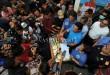 Deputi Bidang Pemberantasan Badan Narkotika Nasional (BNN), Irjen Pol Arman Depari menunjukan barang bukti narkoba saat gelar kasus, di Medan, Senin (20/2). BNN bersama pihak Bea dan Cukai berhasil menggagalkan penyelundupan narkoba asal Malaysia sebanyak 32 kg dari dua orang tersangka yang satu diantaranya tewas ditembak. (WOL Photo/Ega Ibra)