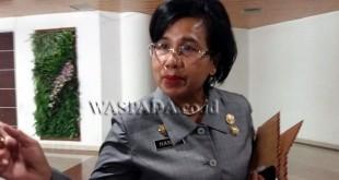 Kepala Dinas Tenaga Kerja Kota Medan, Hanalore Simanjuntak (WOL Photo)