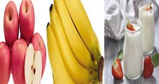 Waktu terbaik makan pisang, apel dan yogurt (Foto: Google)