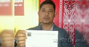 Indra Surya Nasution, pemegang mandat pengelolaan parkir di Kecamatan Percut Seituan.(WOL Photo)