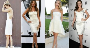 Dress putih untuk tunangan (Foto: Thetrendspotter)