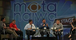 Gubernur Sumut, Tengku Erry Nuradi, ketika menjadi narasumber pada Mata Najwa On Stage di Medan.