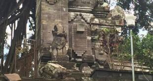 Gempa 6,4 SR di Bali menyebabkan tiga pura rusak (IST)