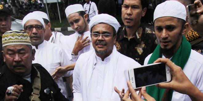 Habib Rizieq (Foto: Okezone)