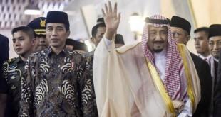 Raja Salman dan Presiden Jokowi (foto: Antara)