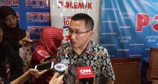 Direktur Polmark Indonesia Eep Saefullah Fatah. Foto Okezone/Fahreza Rizky