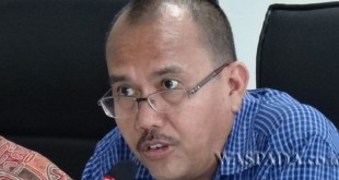 Ketua Fraksi Persatuan Nasional DPRD Medan, Maruli Tua Tarigan. (WOL Photo/M Rizki)