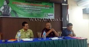 Kepala Dinas Lingkungan Hidup Kabupaten Karo, Timotius Ginting (WOL Photo)