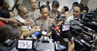 Kapolri Jenderal Tito Karnavian saat memberi keterangan kepada wartawan (Antara)