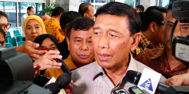 Menko Polhukam, Wiranto (foto: Okezone)