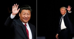 Presiden China Xi Jinping akan menyambangi resor pribadi Presiden AS Donald Trump pekan depan (Foto: People's Daily China/Twitter)