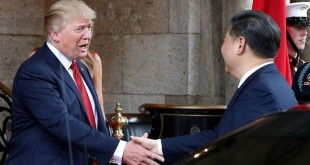 Presiden AS, Donald Trump dan Presiden China, Xi Jinping. (Foto: AP)