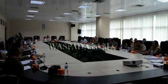 suasana rapat pembahasan LKPj Wali Kota Medan tahun anggaran 2016, Senin (7/5). WOL Photo/M.Rizki