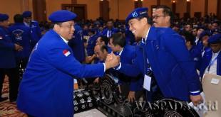 Ketua DPD Partai Demokrat Sumatera Utara JR Saragih hadir di Rakornas Partai Demokrat 2017 di Lombok, Senin (8/5). (WOL Photo)