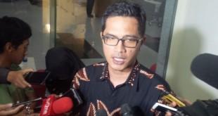 Jubir KPK Febri Diyansyah (Foto: Arie Dwi Satrio/Okezone)