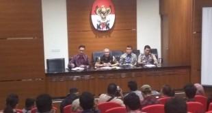 Konferensi pers terkait teror terhadap Novel Baswedan. (Arie DS/Okezone)
