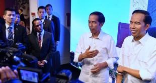 Presiden RI Joko Widodo saat berkunjung di Hong Kong (Foto: Antara)
