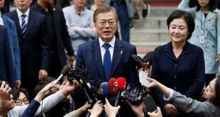Presiden Korsel Moon Jae-in. (Foto: WIONS)