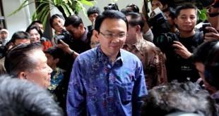 Mantan gubernur DKI Basuki Tjahaja Purnama (foto: Okezone)