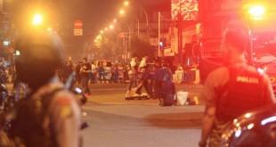 Terjadi Ledakan di Terminal Kampung Melayu (Foto: Okezone)