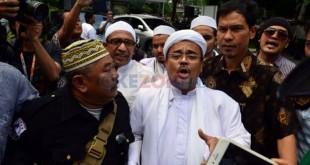 Imam Besar FPI, Habib Rizieq (Foto: Okezone)