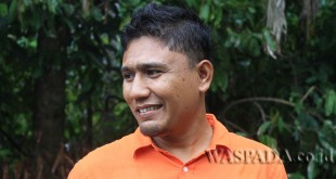Ketua Komisi D DPRK Aceh Utara Fraksi Partai Aceh, Tgk. Mawardi SE atau Tgk. Adek. (WOL Photo/Chairul Sya'ban)