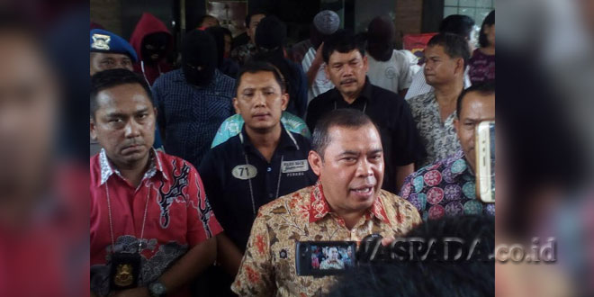 Direktur Ditreskrimum Poldasu, Kombes Pol Nurfallah (WOL Photo)