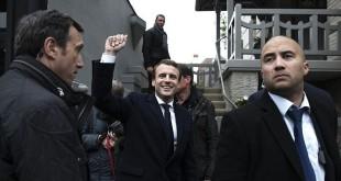 Exit poll mengindikasikan Emmanuel Macron sebagai pemenang di pilpres Prancis (Foto: Getty Images)