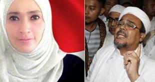 Habib Rizieq dan Firza Husein (Foto: Ist)
