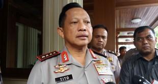 Kapolri Jenderal Tito Karnavian (Foto: Reni Lestari/Okezone)