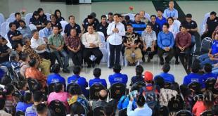 Perkumpulan gereja di Sibolga dukung JR Saragih maju di Cagubsu Sumut 2018, belum lama ini. WOL Photo