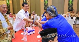 Ketua DPD Partai Demokrat Sumatera Utara JR Saragih dinilai seperti sosok Gus Dur yang mengutamakan kerukunan umat beragama. (WOL Photo)